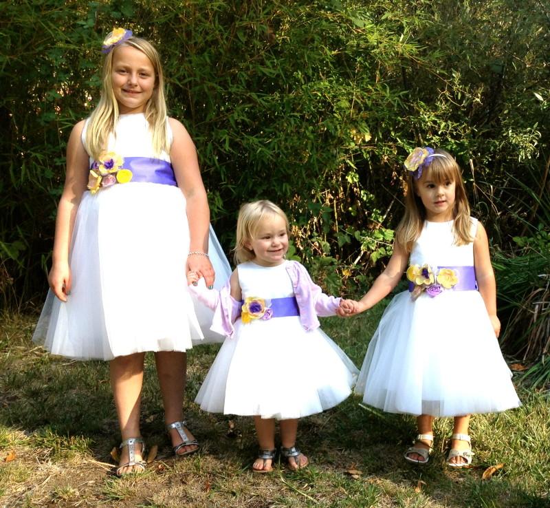 Flower Girls Dresses, semi-homemade