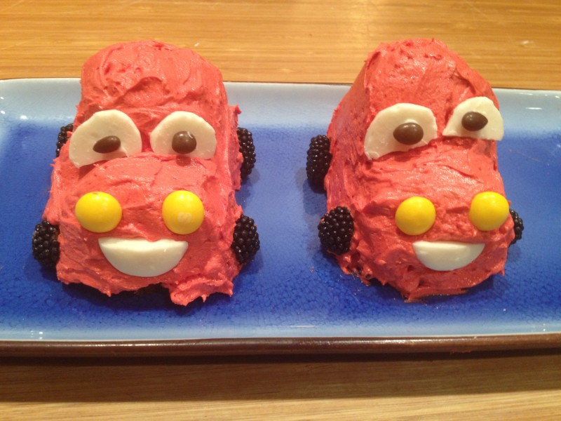Lightning McQueen Cakes The Patchy Lawn
