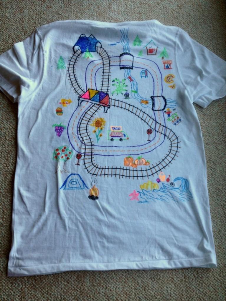 Back Roads shirt