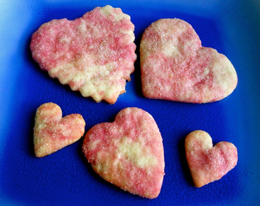 Heart Beet Cookies