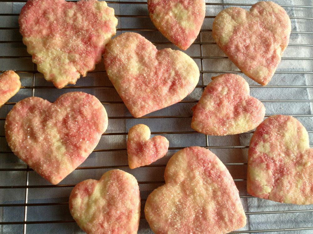 Heart Beet Cookies 3
