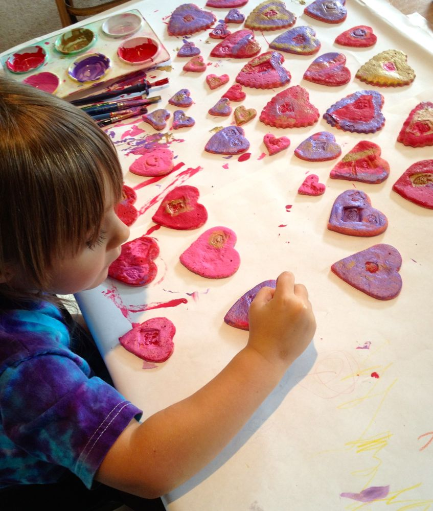 Painting Hearts