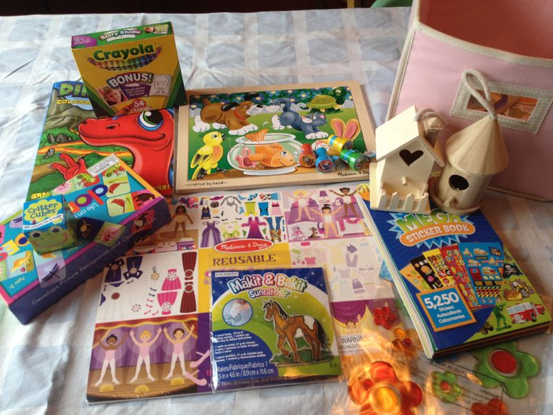 Rainy Day Activity Box