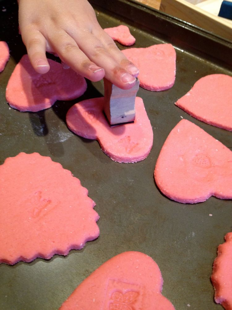 Stamp Hearts