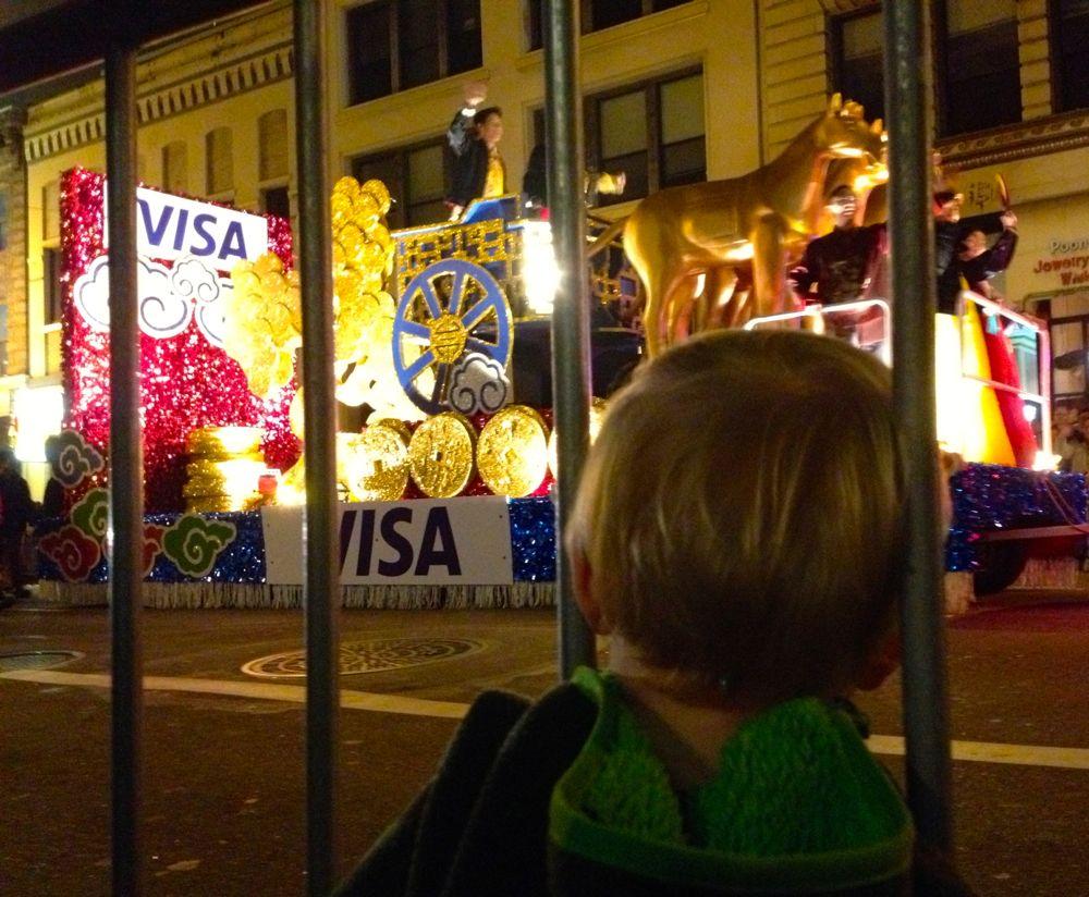Visa Float Parade