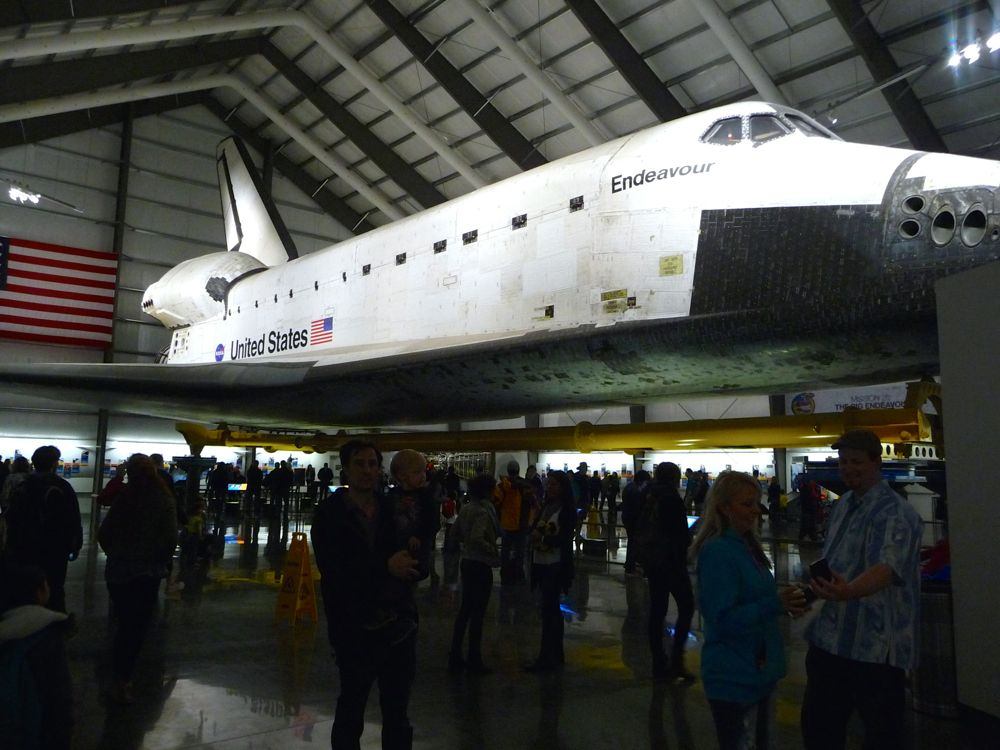 Shuttle Endeavour 2