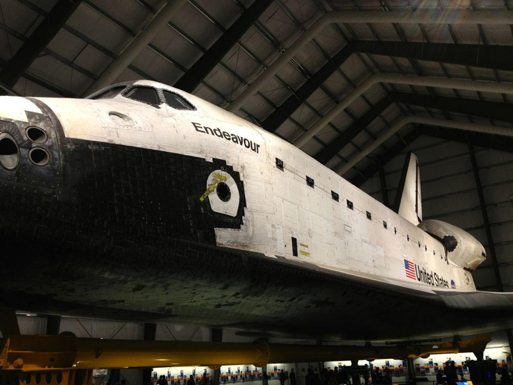 Space Shuttle Endeavour - The Patchy Lawn
