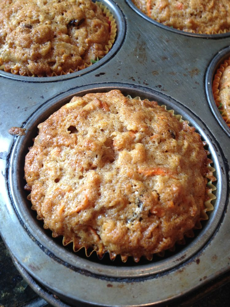 Yummy Carrot Muffins!
