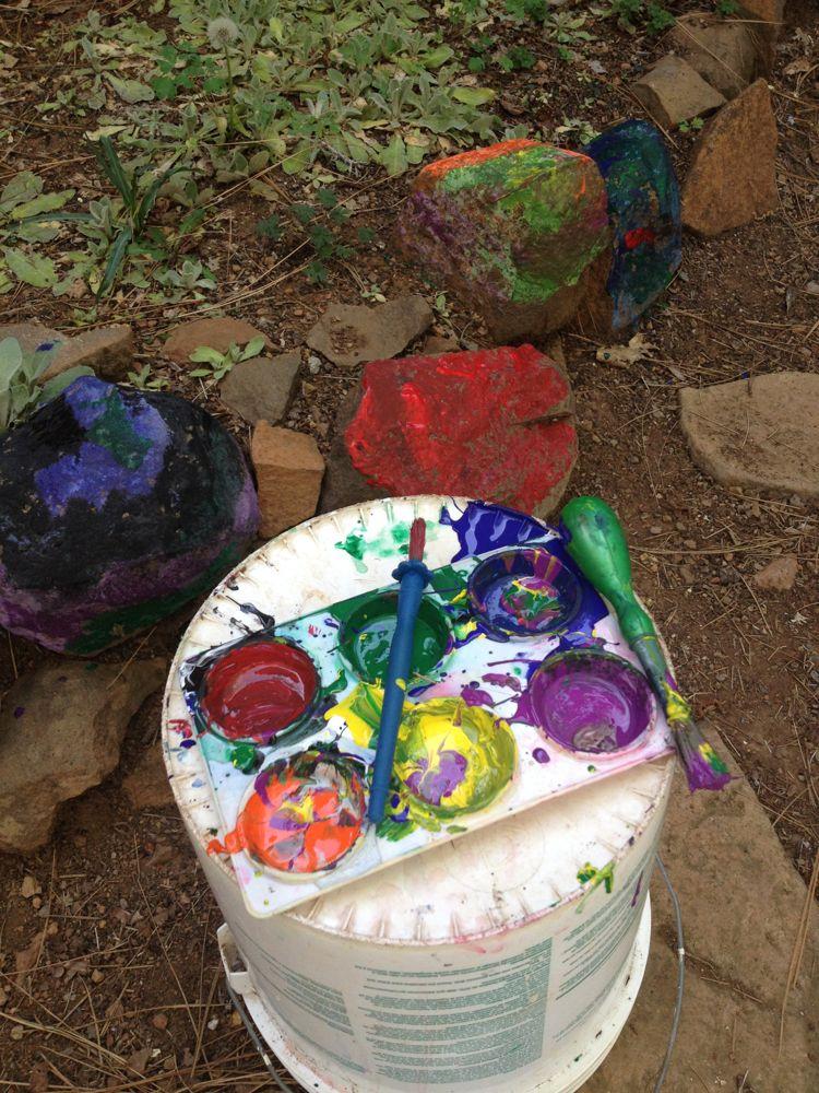 Painted rocks 3