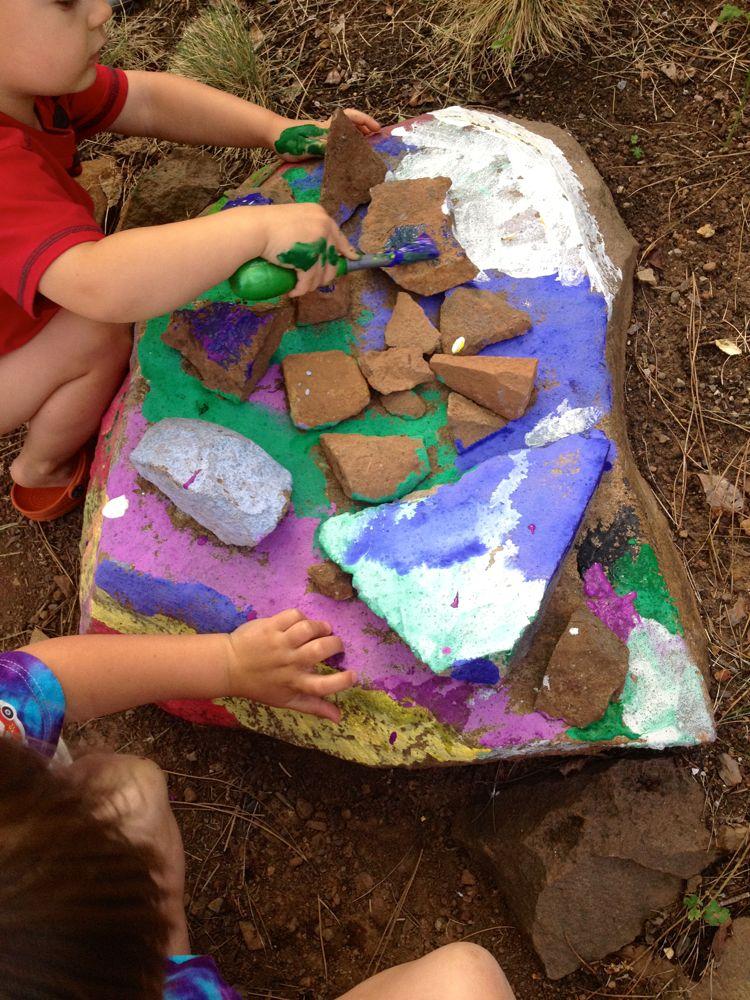 Rock Paining