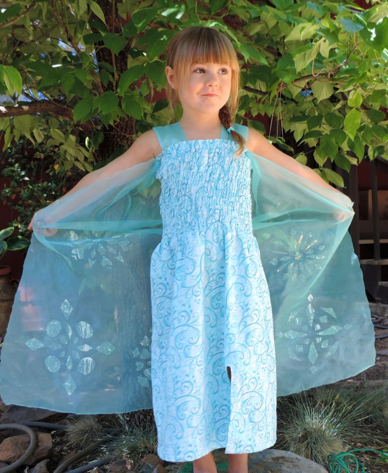 Elsa Dress Tutorial - The Patchy Lawn