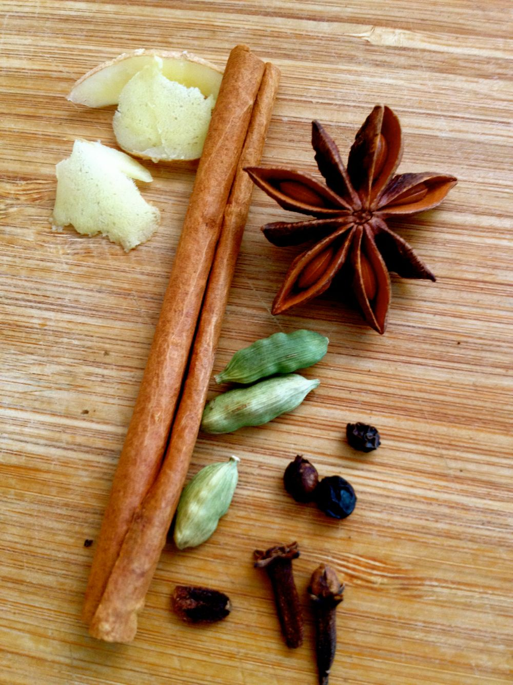chai spices for pears