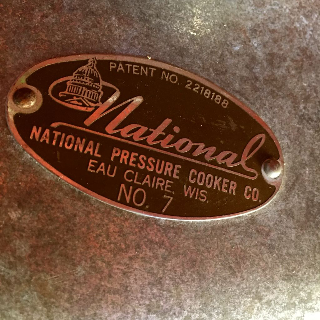 national pressure cooker co