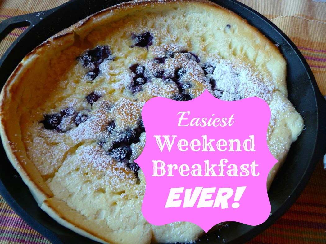 Easiest Weekend Breakfast EVER!