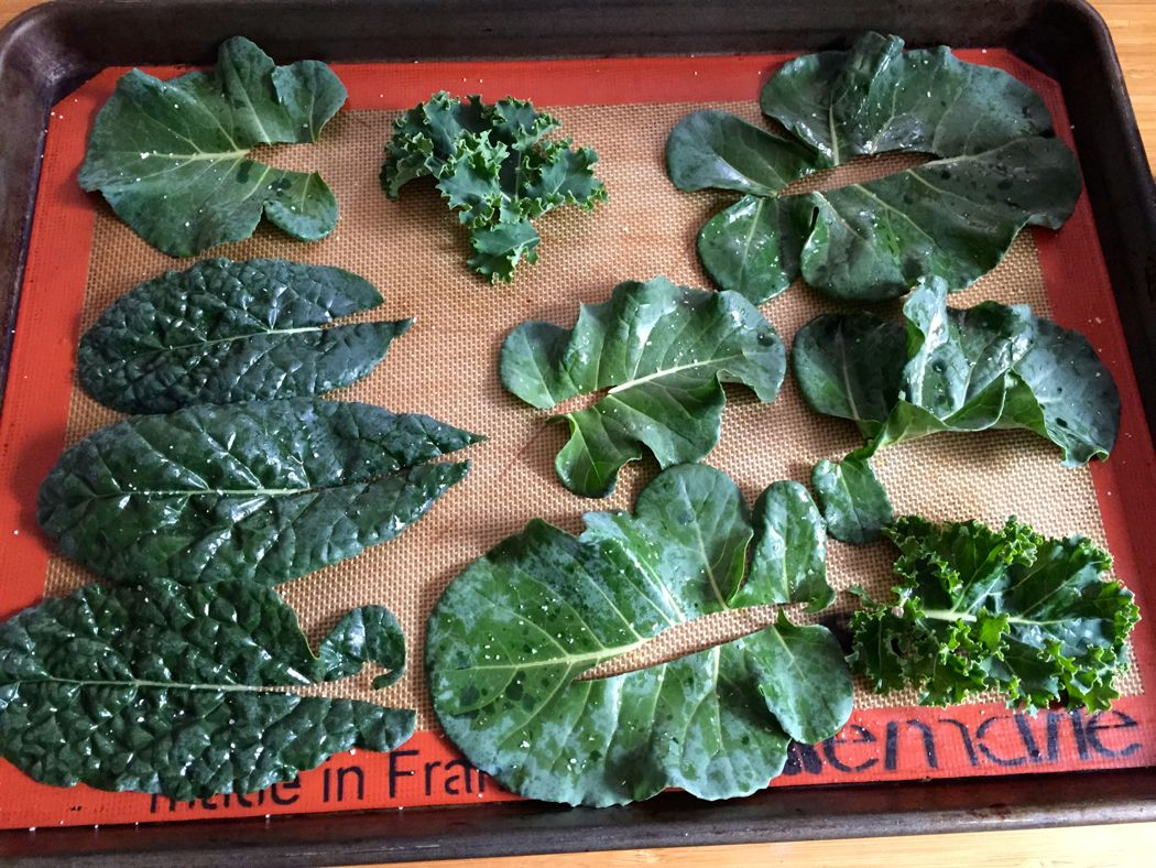 make kale chips