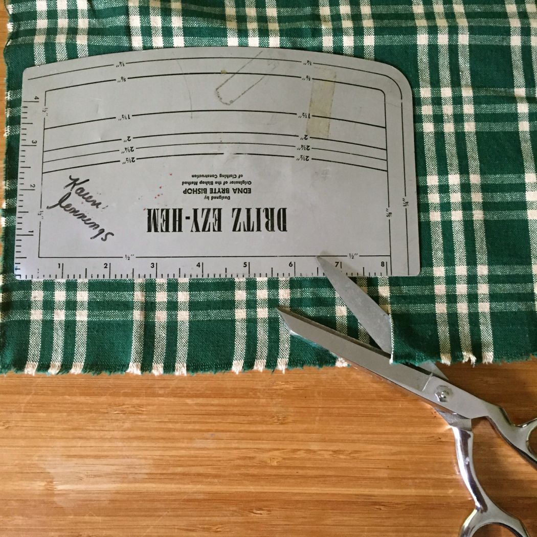no sew cloth napkins