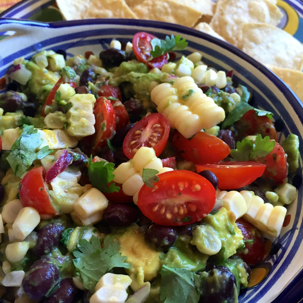 Avocado, Corn and Black Bean Salad - The Patchy Lawn