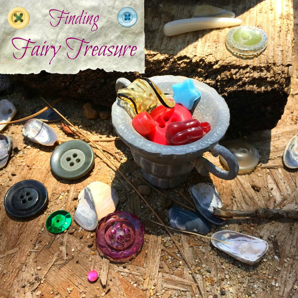Finding Fairy Treasure in the Garden
