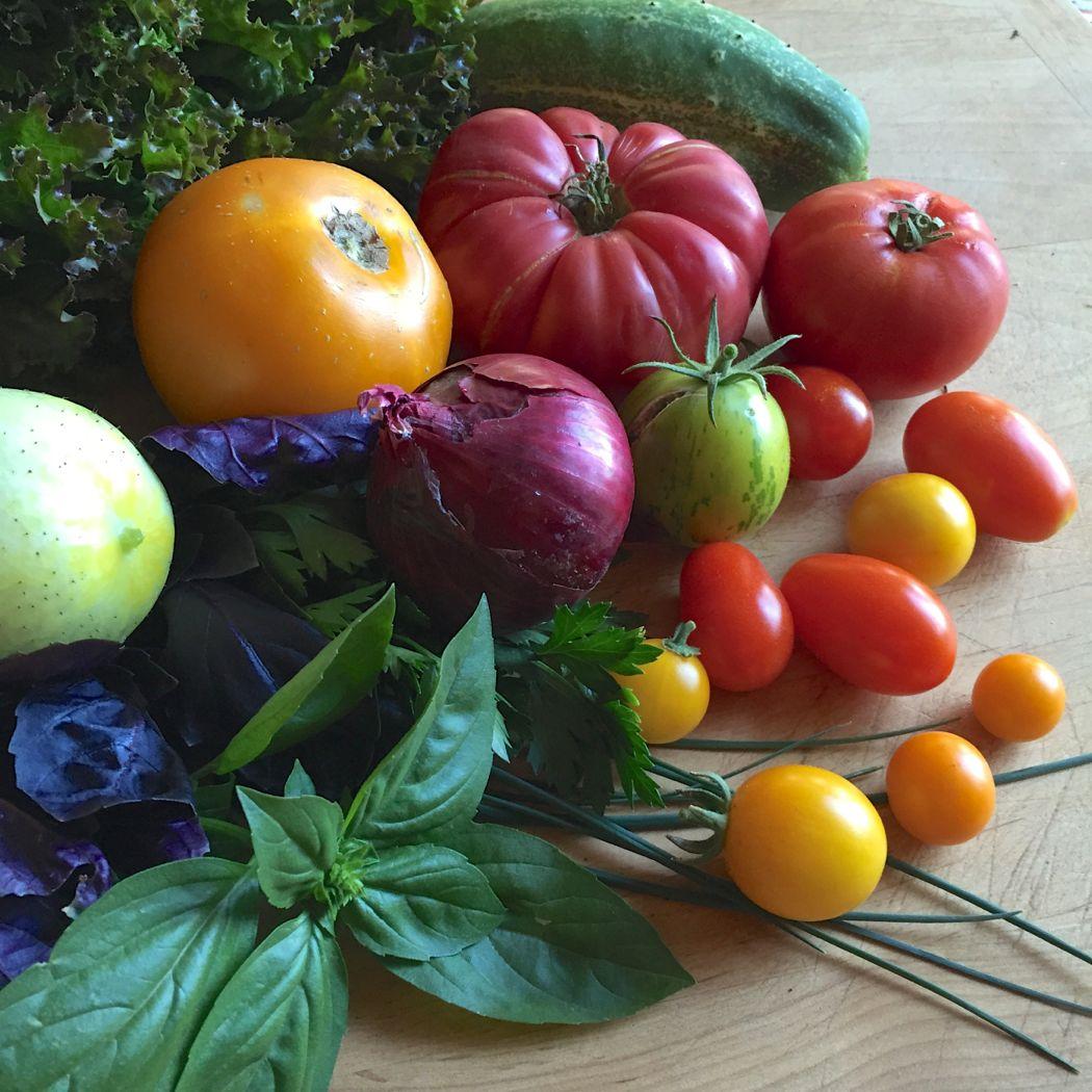 blt salad produce
