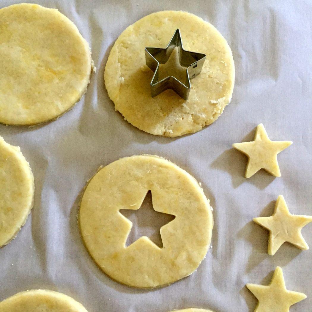 cut stars handpie
