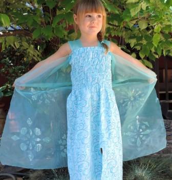 Elsa Dress Tutorial