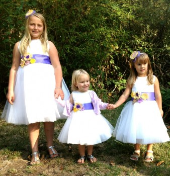 Flower Girls Dresses, semi-homemade
