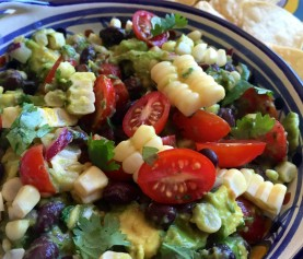 Avocado, Corn and Black Bean Salad