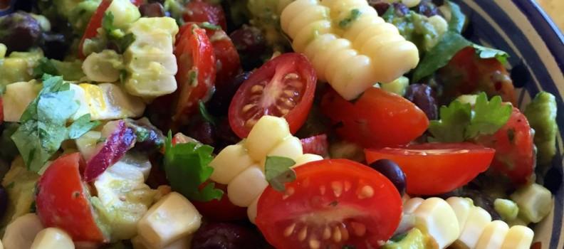 Avocado, Corn and Black Bean Salad
