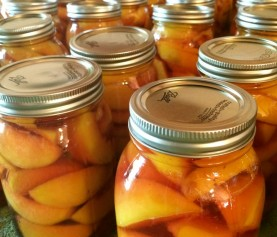 Canning Peaches with the Mamas