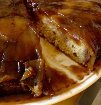 Caramel Apple Upside Cake