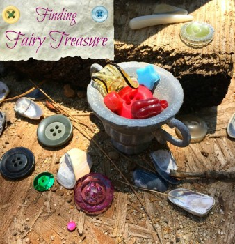 Finding Fairy Treasure in the Garden
