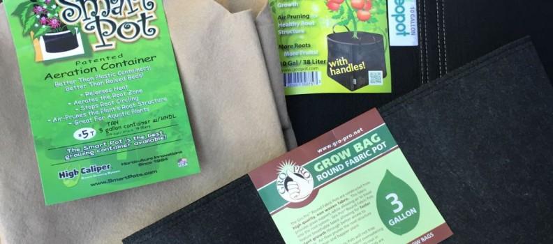 Grow Bag Gardening