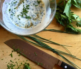 Herby Buttermilk Dressing