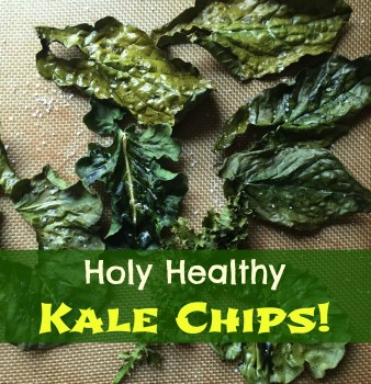 Holy Healthy Kale Chips!