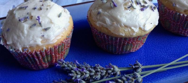 Lavender Honey Cupcakes for Lyla