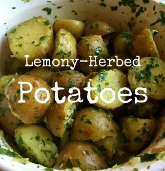 Lemony-Herbed New Potatoes