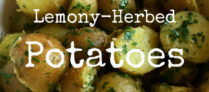 Lemony-Herbed New Potatoes