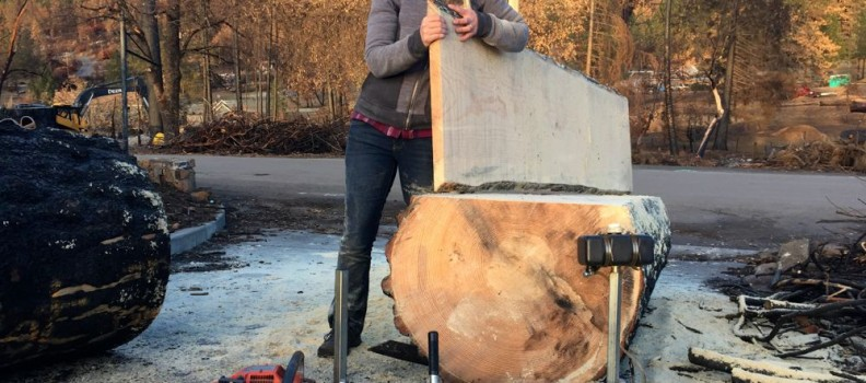 I Made My Own Lumber with an Alaskan Mill!