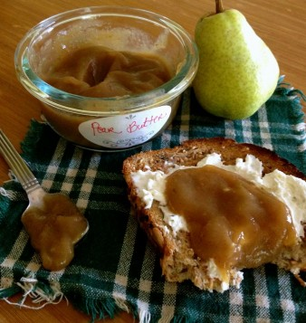 Maple Pear Butter