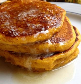 Pumpkin Pie Pancakes from Scratch!
