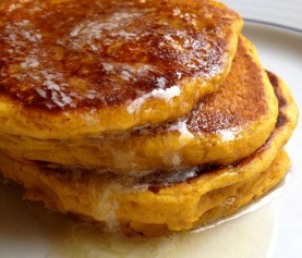 Pumpkin Pie Pancakes from Scratch!