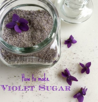 How to Make Violet Sugar
